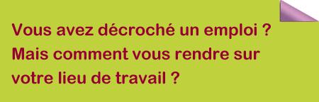 ADER - Aide à la Mobilité en Corrèze - Vous avez décroché un emploi ? Mais comment vous rendre sur votre lieu de travail ?